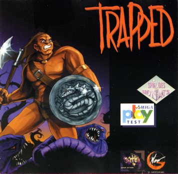 Trapped - Cover (front)